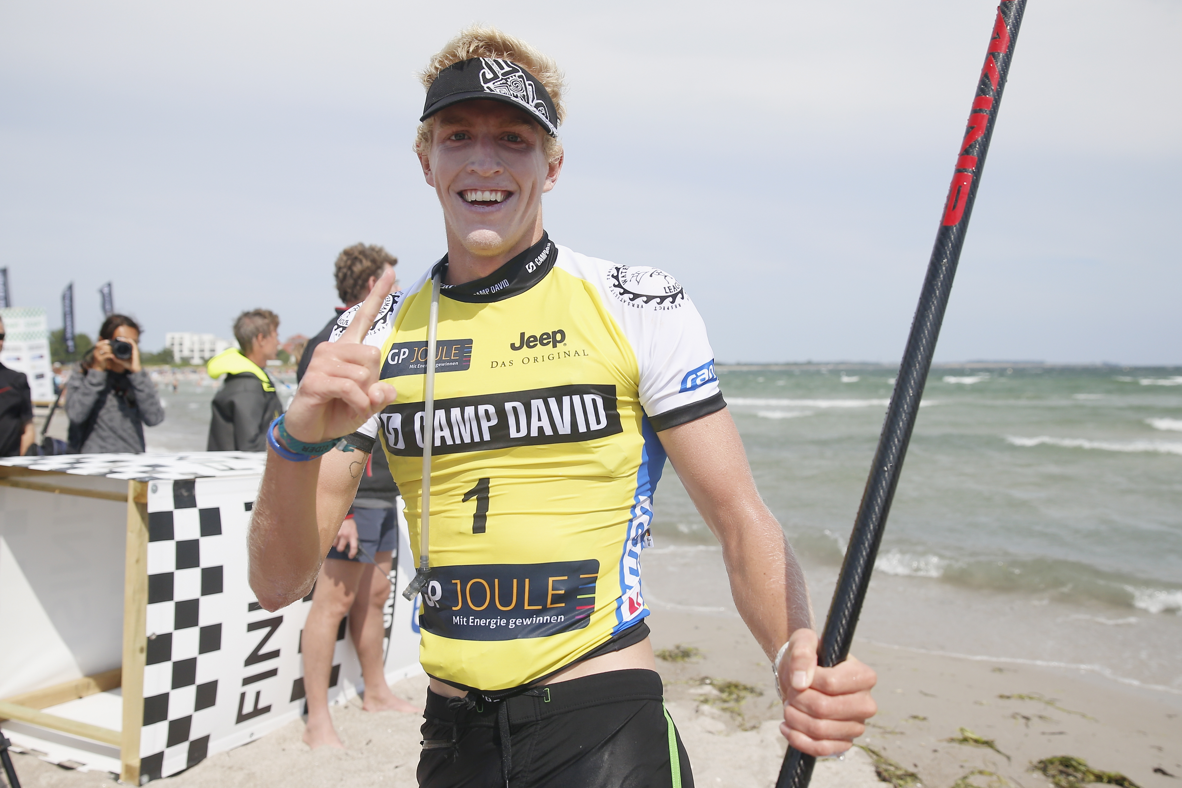 CAMP DAVID SUP World Cup Fehmarn Südstrand